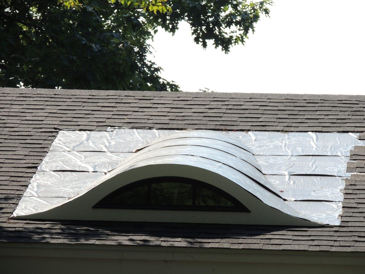 Flat Seam Eyebrow Window Roof Triple M Contracting